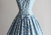 1950'lerden Elbiseler