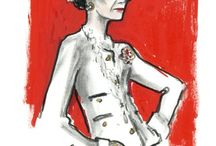 Coco Chanel illustrated