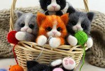 Cute Cat Plushies