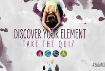 #BalancedYou / Discover your element: take the quiz, then join our 21-day Yoga Guide and find the #BalancedYou!