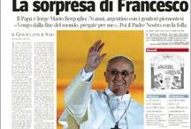 Francisco (El Papa Argentino) - Tapas de Diarios en el Mundo -