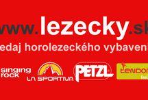 lezecky.sk / Internetový obchod s horolezecký vybavením. Laná, lezečky a veľa ďalších. GriGri, Tendon, La Sportiva, Petzl...