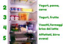 Organizzare il frigorifero