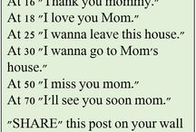 Mommy Quotes / For my One and Only Loving Mommy.