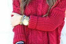 sveter pletený