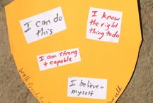 Positive self talk activity / Counselling