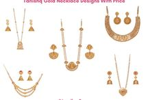 Tanishq Gold Necklace Designs