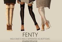 Sims 2 Clothing - Female Bottom