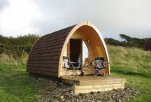 Camping Pods and Wooden Structures