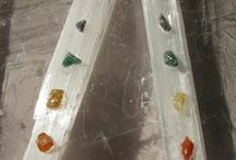 Crystal Wands / We create powerful healing tools using crystals and programming them with Sacred Geometry.