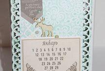 скрапбукинг, календарь