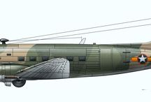 VNAF Aircraft Profiles. / Profiles drawings of the VNAF aircraft I've done over the years and still doing ...