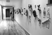 gallery ideas / by Missy Steele