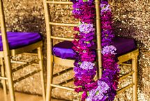 Purple plum violet fig grey gold