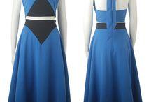 Steven Universe costumes / Steven Universe Lapis Lazuli cosplay costume blue dress