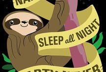 Sloths!