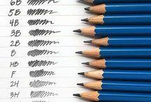 HB kare kalemler