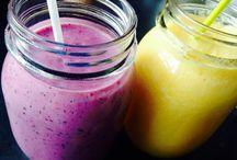 Smoothies / Der schnelle, gesunde und vor allem leckere Drink.