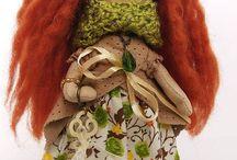 Handmade Dolls / Our handmade dolls on HANDMADEandDECOR.etsy.com