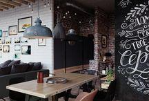 Loft Design Moscow  - Интерьеры в стиле Лофт / Современные индустриальные интерьеры от дизайн студии ЛофтПлан: - Квартиры в стиле лофт - Дома в стиле лофт - Идеи ремонта