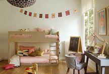 kids: big kid rooms / by Caroline Cornatzer