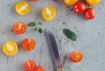 Salat und Soßen / Essen, Vegan