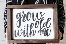 2018 wedding signs