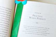 Bookmark Craft Ideas / Have fun, get creative, and make something really useful with some of these ideas for bookmarks!