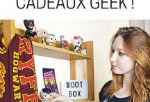 GEEK / Fan de culture geek voici quelques illustrations et revues de produits
