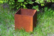 Corten - doniczki, donice / Donice z Cortenu, Corten, Doniczki, Flowerpot, Planter, Steel, Design, Outdoor