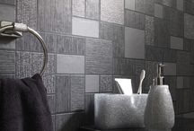 Kitchen and Bathroom Wallpapers / A few selected wallpapers that are suitable to decorate your kitchen and bathroom with.