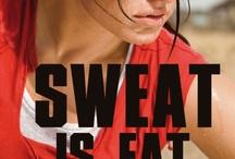 workin on my fitness-he's my witness