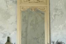 Mirror mirror on the wall.... / Trumeau, vintage, DIY, etc