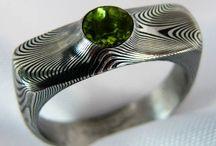 damasteel engagement ring