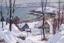 Zima Obrazy