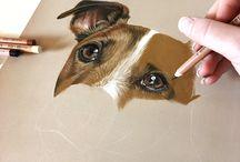 hyperrealism animals