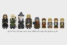 Cross stitch - Lord of the Rings