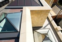 Frameless Glass Rooflights / Frameless rooflights, when the glass is structurally bonded together without any framing or extra support, where the glass itself supports the structure.