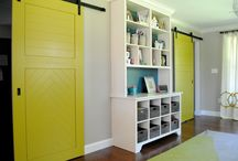 Interesting Doors with Color and Style