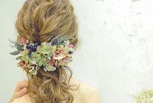 *wedding hair* dress