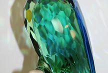 Swarovski papagaj kombinacia...