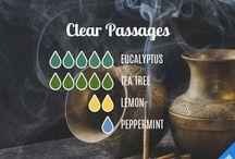 Clear passage blends