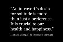 Me....the introvert....and its ok