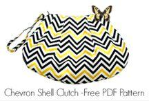 Chevron Bags / by PatternPile.com