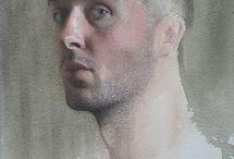 Nick Alm / Nicholas Alm, swedish painter, based in Stockholm, Sweden.