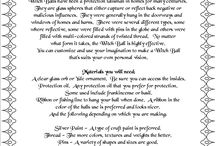 Lynda,s witch work. / Spells, magic, and mystical workings.