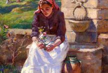 sanat ve yağlı boya