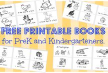 Printable Books for Preschool / by Laura Justice