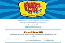Funnel Cake Express - Do It Yourself / Funnel Cake Express - Funnel Cake Kit