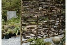 kerítés faágból